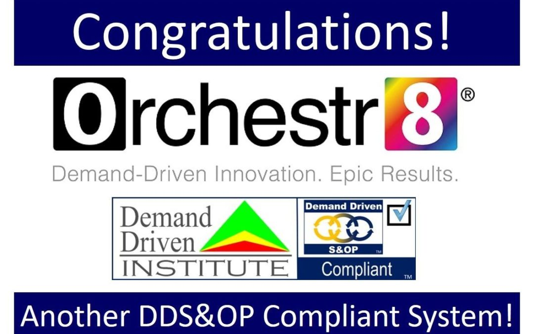 Orchestr8 Are DDS&OP Compliant Now!